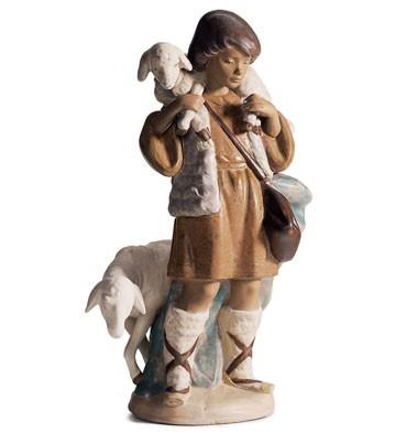 Shepherd Boy Lladro Figurine