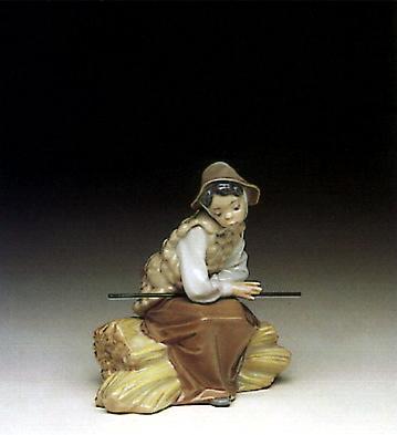 Shepherd Girl Lladro Figurine