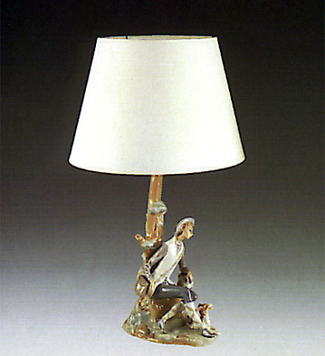 Shepherd Lamp Lladro Figurine