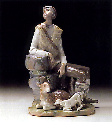 Shepherd Resting Lladro Figurine
