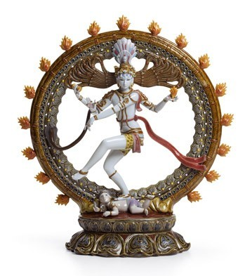 Shiva Nataraja Lladro Figurine