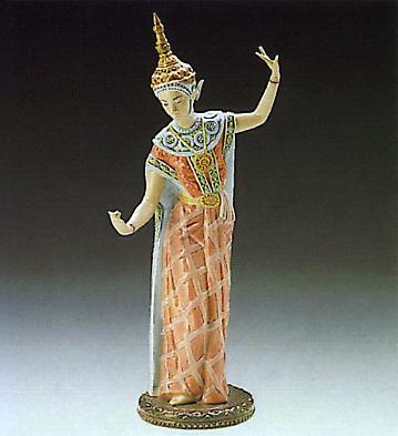 Siamese Dancer Lladro Figurine