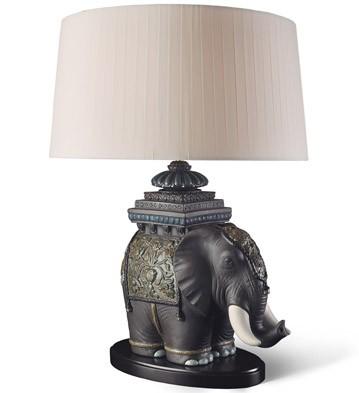 Siamese Elephant - Lamp (us) Lladro Figurine