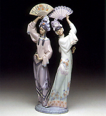 Singapore Dancers Lladro Figurine