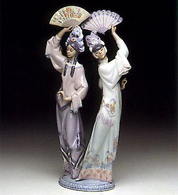 Singapore Dancers Lladro Figurine