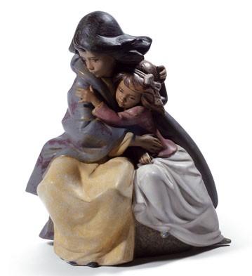 Sisterly Love Lladro Figurine