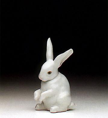 Sitting Bunny Lladro Figurine