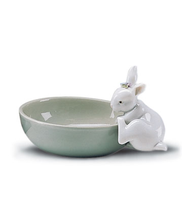 Small Bowl Lladro Figurine