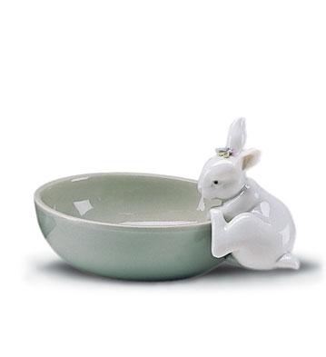 Small Bowl Lladro Figurine