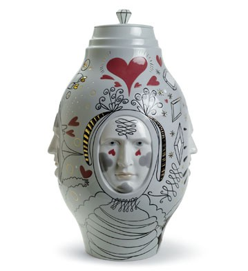 Small Conversation Vase Lladro Figurine
