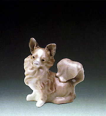 Small Dog Lladro Figurine