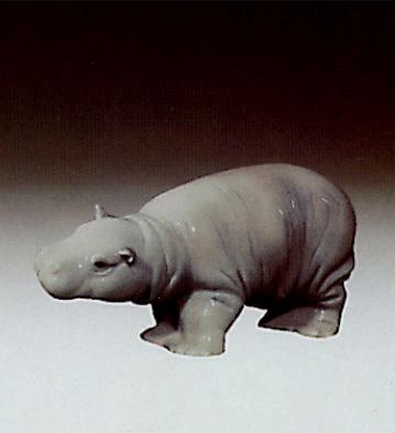 Small Hippopotamus Lladro Figurine