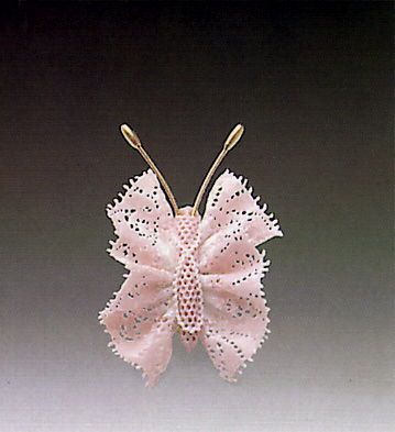 Small Pink Butterfly N.8 Lladro Figurine