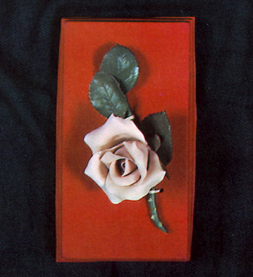 Small Rose In Case Lladro Figurine
