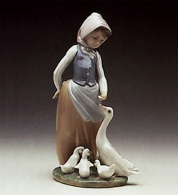 Snails For The Ducks Lladro Figurine