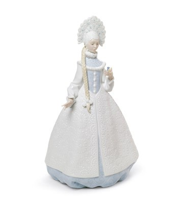 Snow Maiden Lladro Figurine