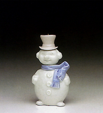 Snowman Lladro Figurine