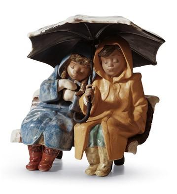 Snowy Sunday Lladro Figurine