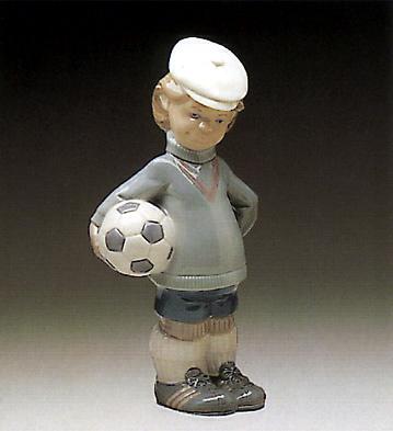 Soccer Player Puppet Lladro Figurine