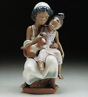 Soft Meow Lladro Figurine