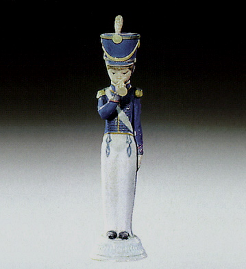 Soldier With Cornet Lladro Figurine