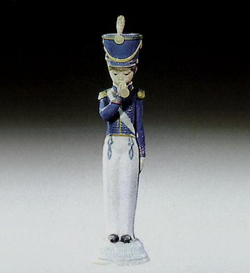 Soldier With Cornet Lladro Figurine