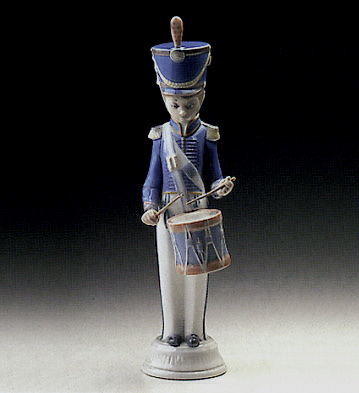 Soldier With Drummer Lladro Figurine
