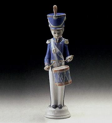 Soldier With Drummer Lladro Figurine