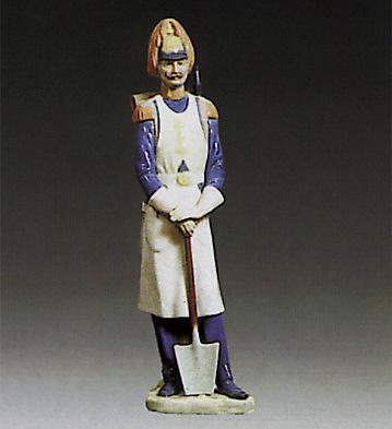 Soldier Lladro Figurine