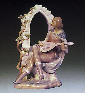 Sonata At Moonlight Lladro Figurine
