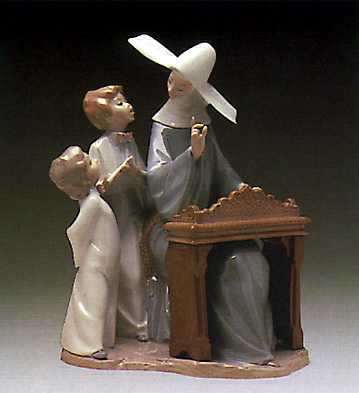 Song Lesson Lladro Figurine