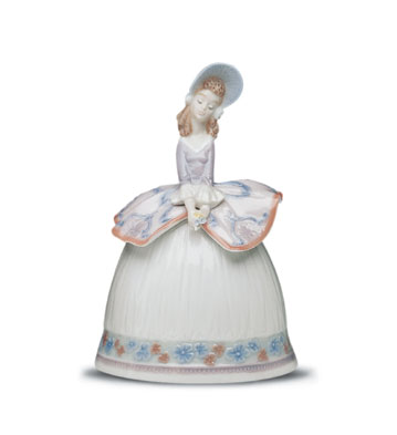 Sounds Of Spring Lladro Figurine