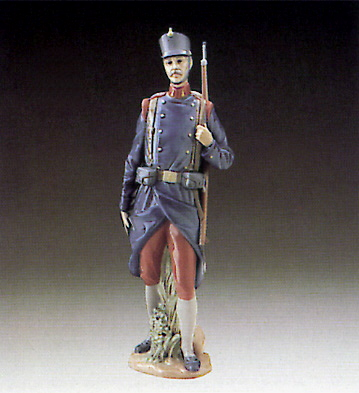 Spanish Soldier Lladro Figurine