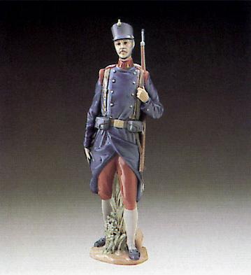 Spanish Soldier Lladro Figurine