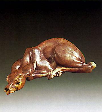 Spelled Gacelle Lladro Figurine