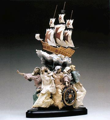 Spirit Of America (l.e.) Lladro Figurine