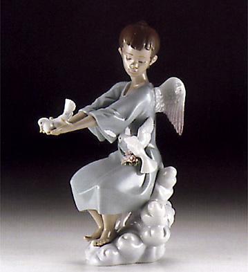 Spring Angel Lladro Figurine