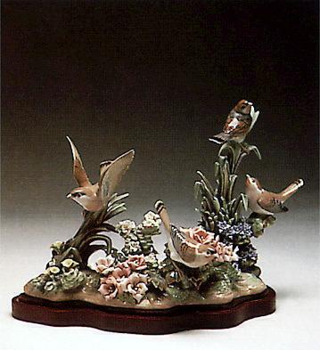 Spring Birds -b- Lladro Figurine