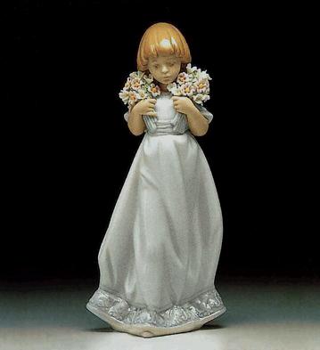 Spring Bouquets Lladro Figurine