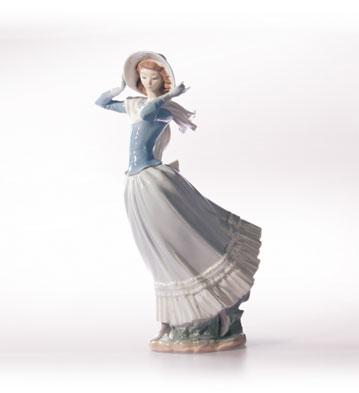 Spring Breeze Lladro Figurine