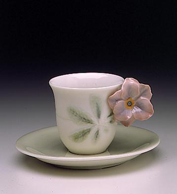Spring Cup With Saucer Lladro Figurine