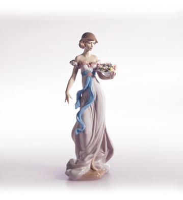 Spring Flirtation Lladro Figurine