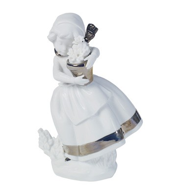 Spring Is Here (re-deco) Lladro Figurine