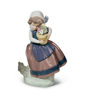 Spring Is Here Lladro Figurine