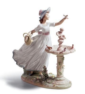 Spring Joy Lladro Figurine