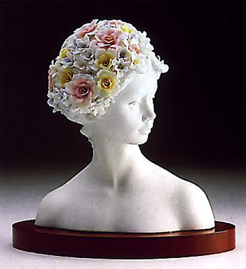Spring Lady(b) Lladro Figurine