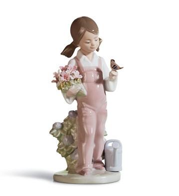 Spring Lladro Figurine