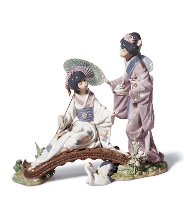Springtime In Japan Lladro Figurine