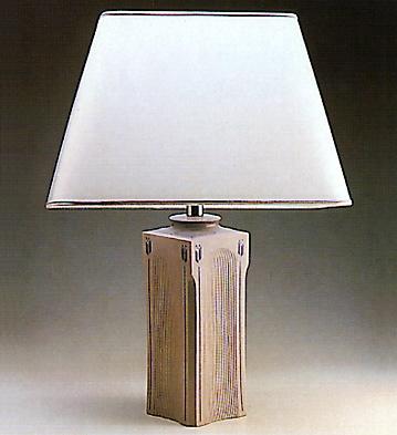 Square Vase Lampbase Lladro Figurine