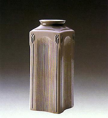 Square Vase Lladro Figurine